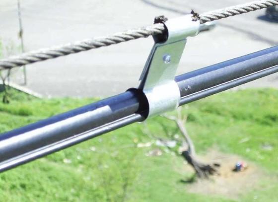 Муфта натяжения в тросовых электропроводках