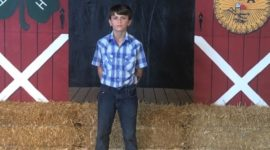 12-летний мальчик продал на аукционе свинью за $15000 и отдал все деньги детям, больным раком