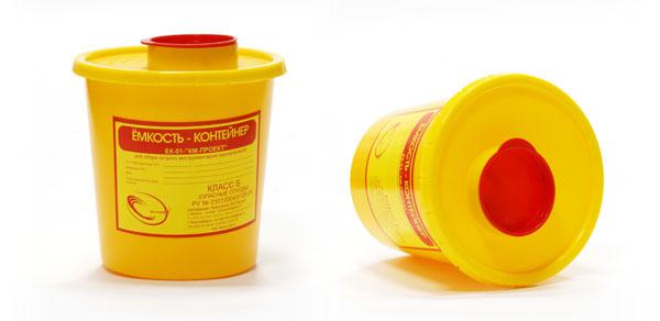 Преимущества контейнера для медицинских отходов