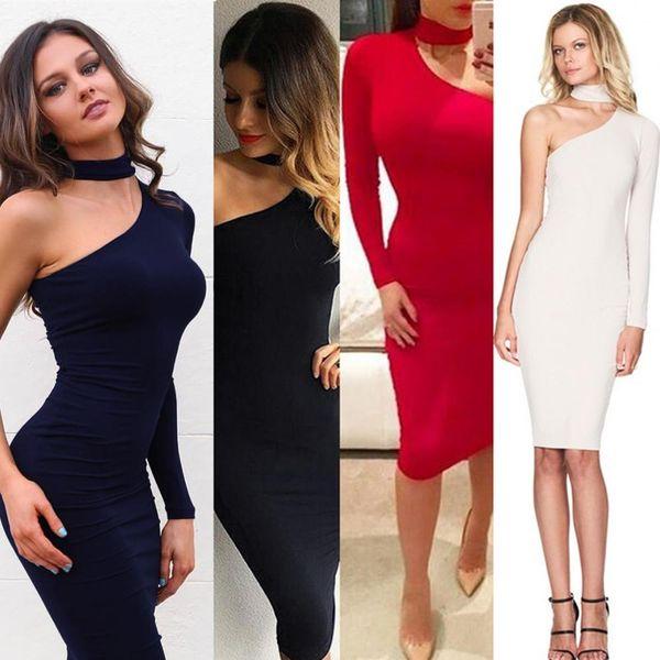 Купить облегающее платье для женщины
