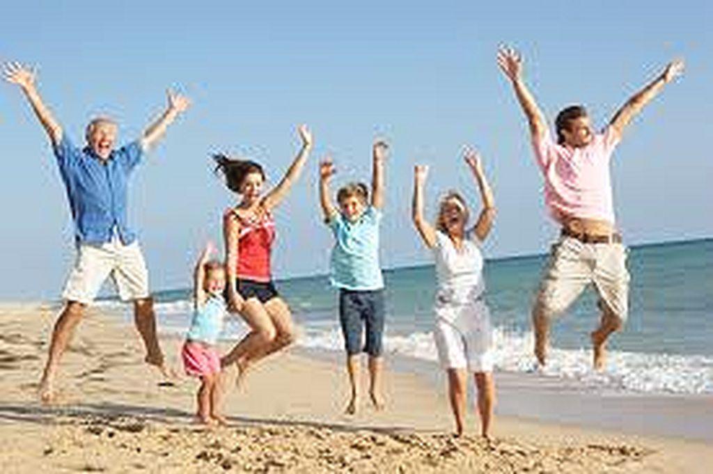 здоровая и счастливая семья