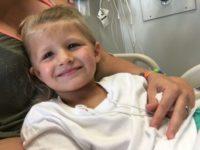 5-летняя девочка из Огайо не могла глотать и двигаться после укуса клеща