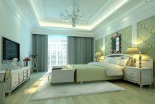 Лучшие варианты отделки потолка спальни дома или квартиры