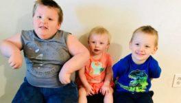 «Я не раскормила своего ребенка»: У тучного 4-летнего малыша редкая болезнь, из-за которой он постоянно чувствует голод