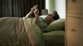 Качество сна зависит от количества sms-сообщений