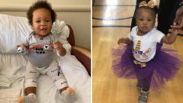 Малышка с анемией нуждается в пересадке стволовых клеток к ее второму дню рождения