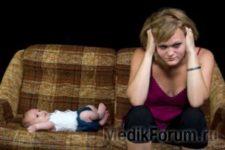 Найдена причина послеродовой депрессии