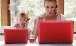 Работающие мамы устают больше отцов