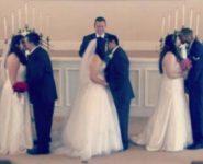 Ради умирающей мамы три сестры вышли замуж в один день