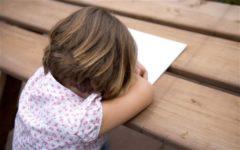 Современные дети сталкиваются с депрессией в пять лет